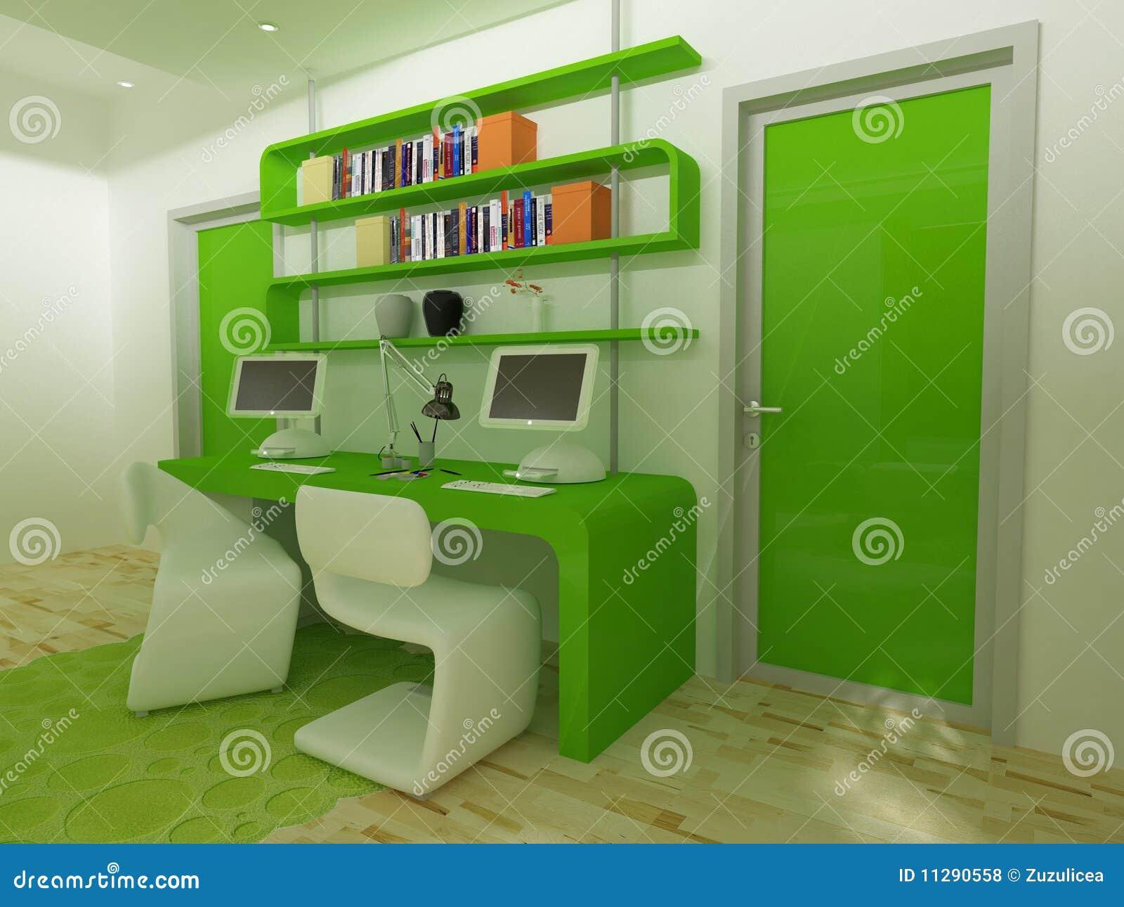 bureau d'enfants illustration stock. illustration du tapis - 11290558