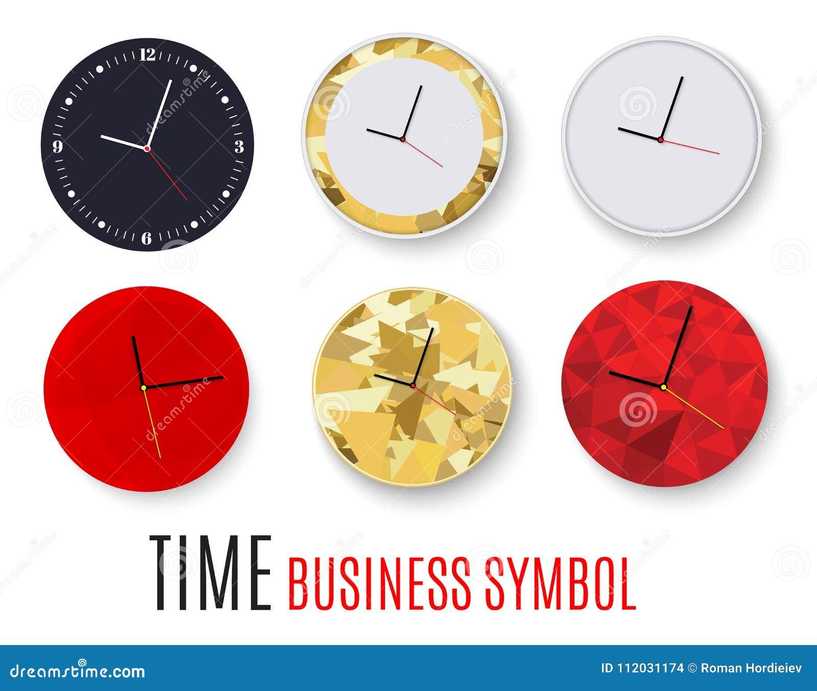 Horloge De Bureau Originale bureau d'horloge murale conception de calibre en plan