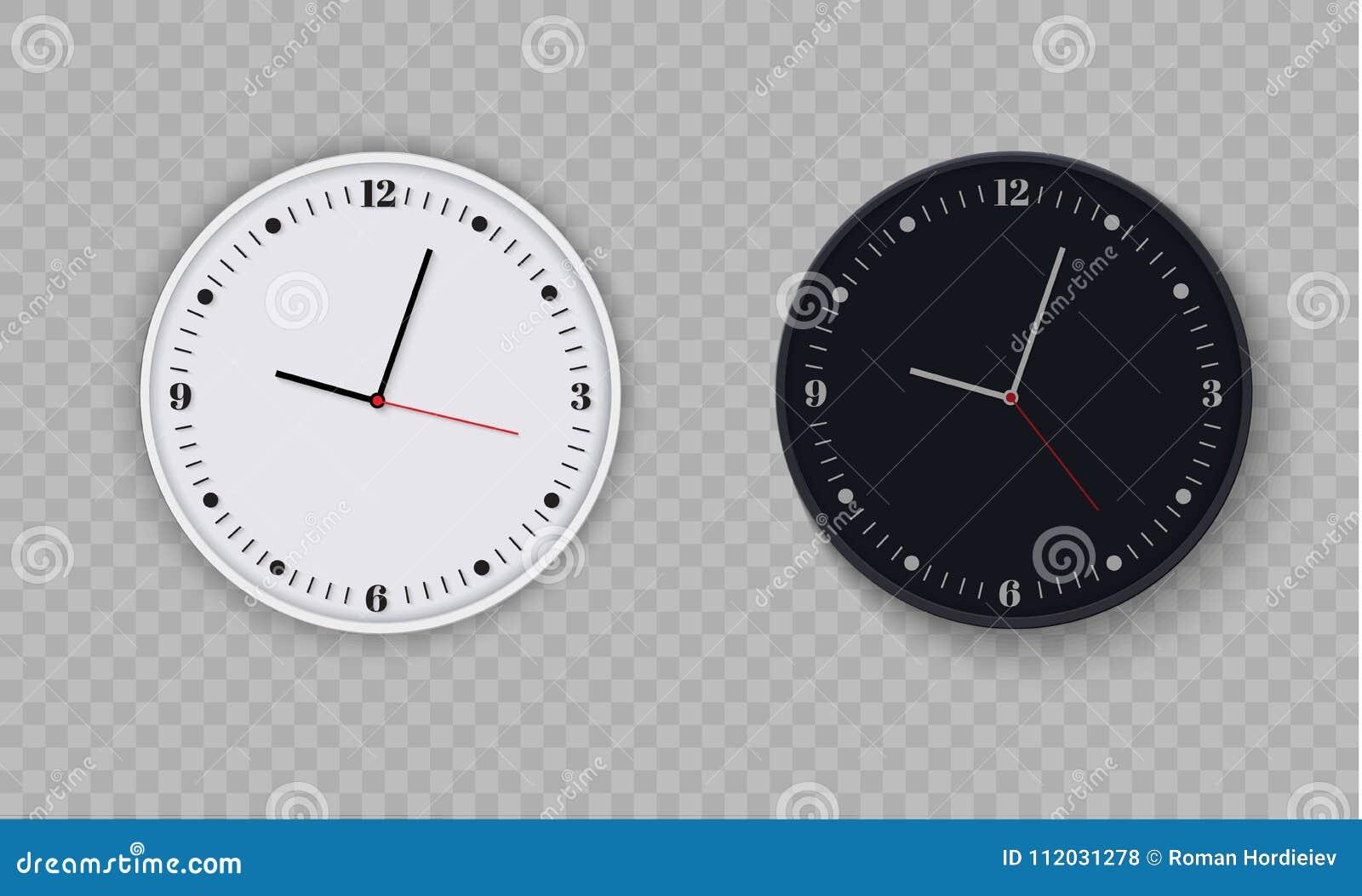 Bureau d horloge murale conception de calibre en plan rapproché de