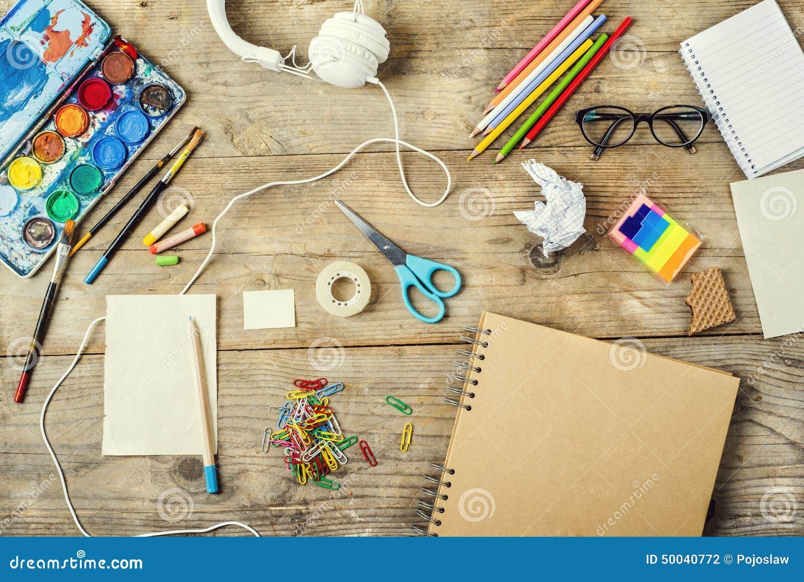 Bureau d un artiste