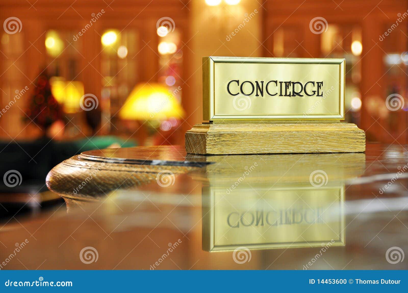 Bureau de concierge