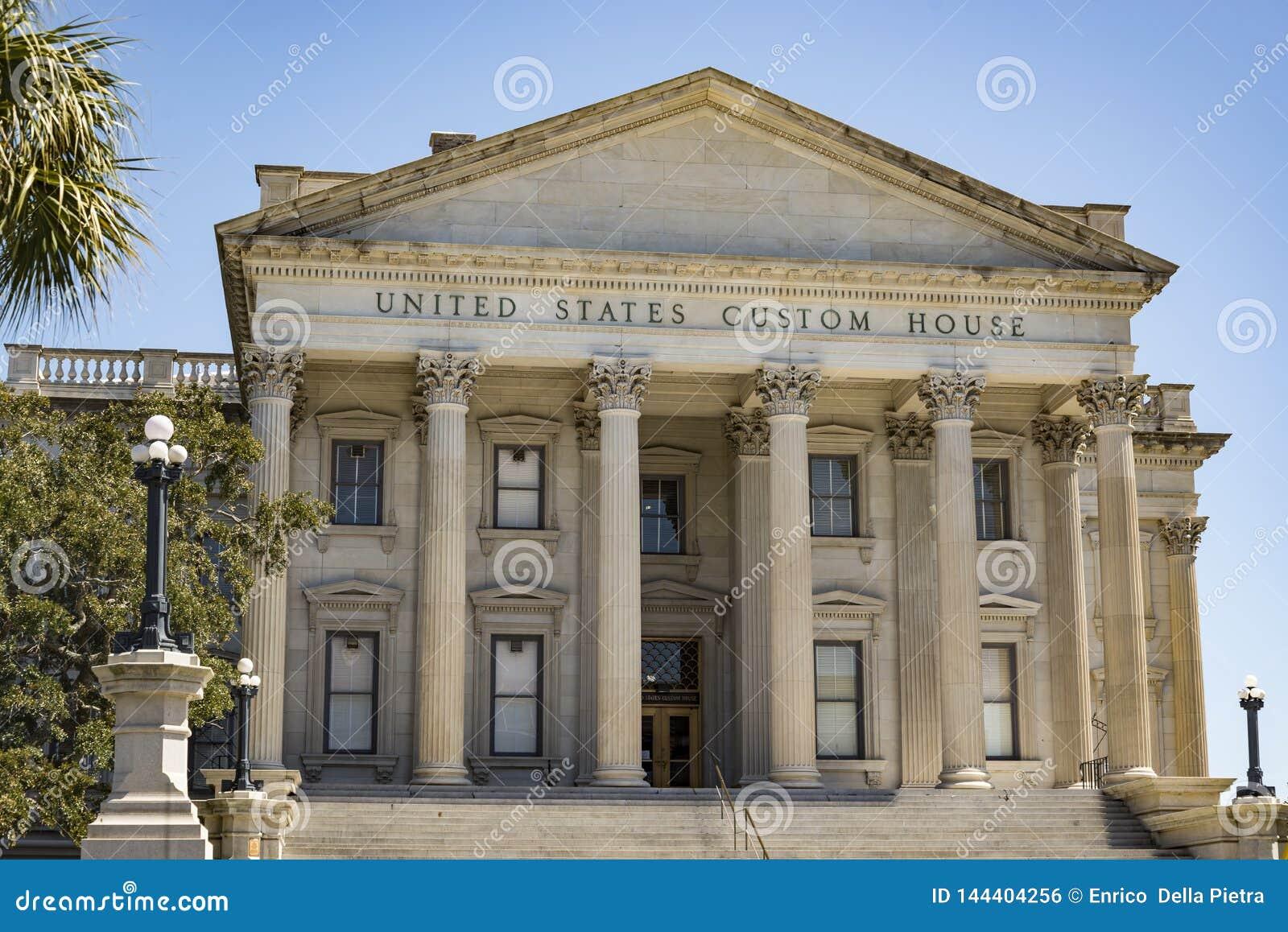 Bureau de douane des Etats-Unis, Charleston, Sc