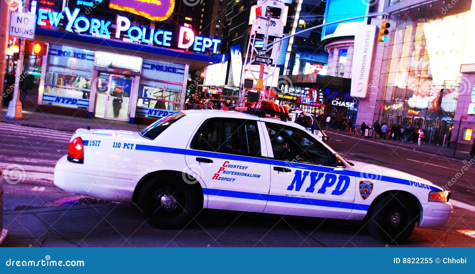 bureau de d partement de police de new york dans le times square image ditorial image 8822255. Black Bedroom Furniture Sets. Home Design Ideas