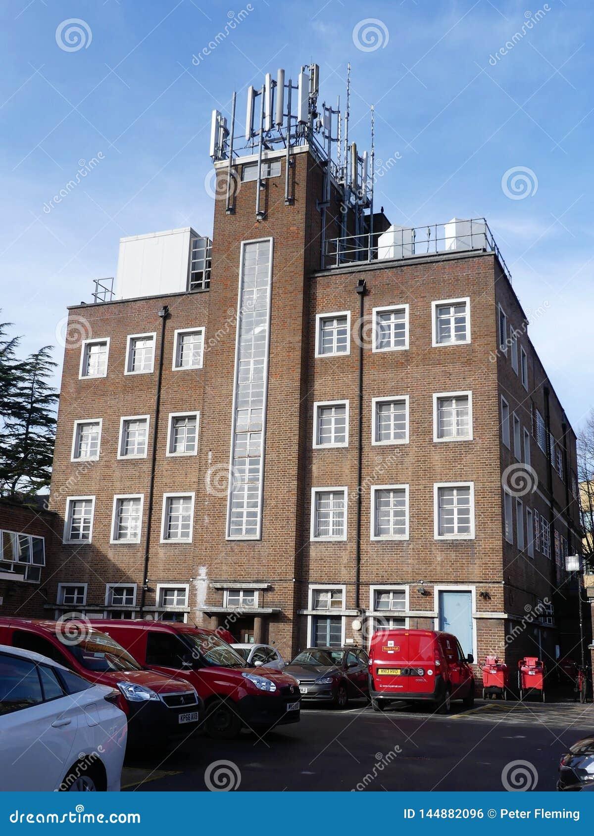 Bureau de tri de Royal Mail, ruelle de cure, Rickmansworth