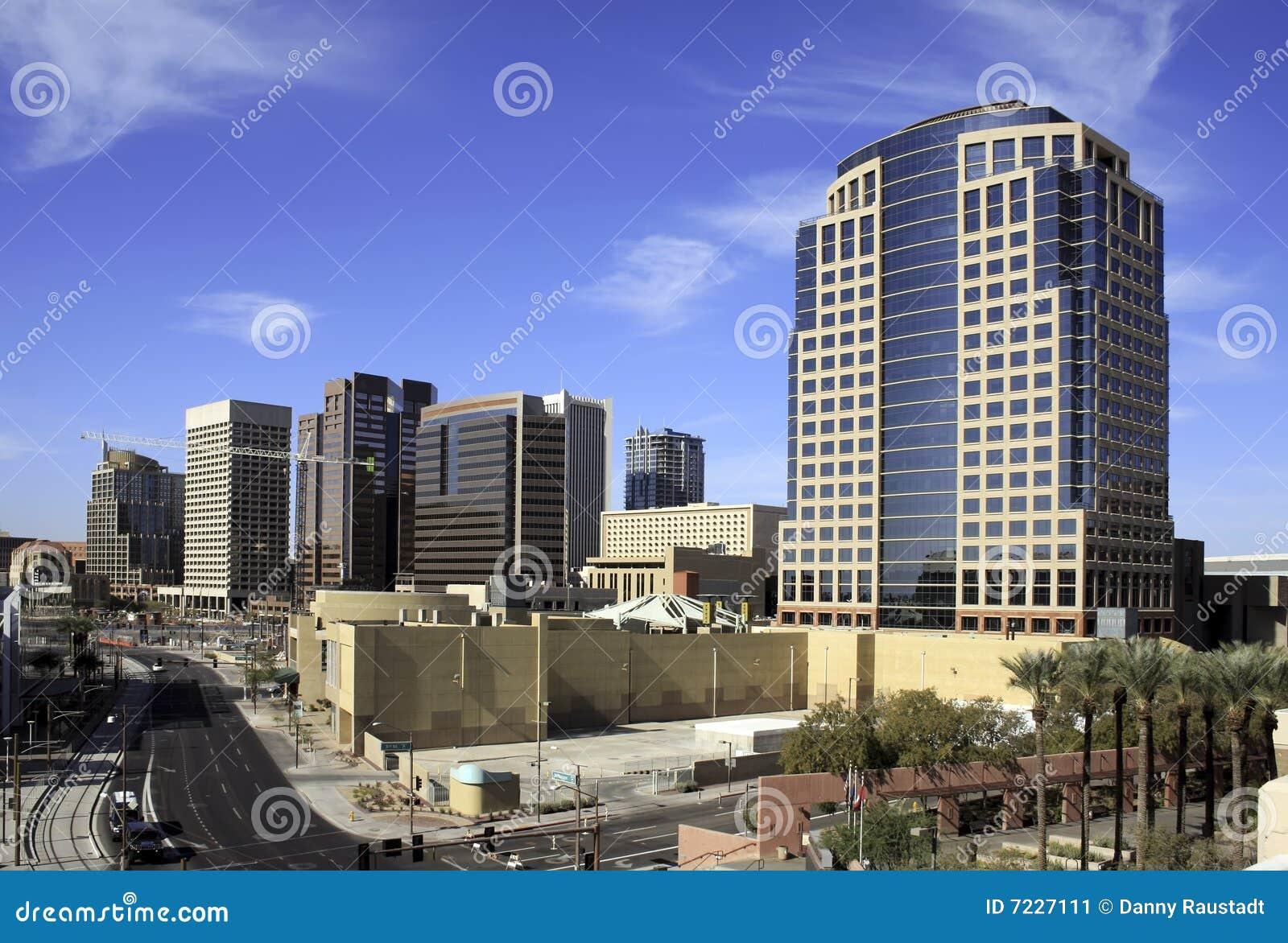 Bureau du centre Phoenix de ville de constructions de l Arizona