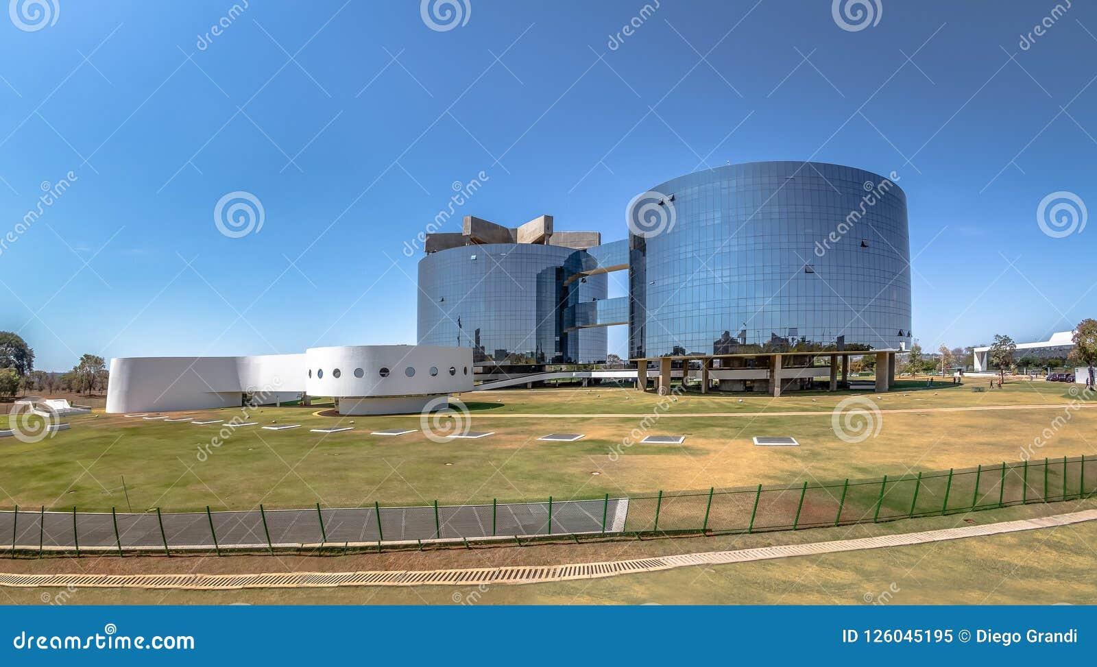 Bureau fédéral de poursuite, le Procureur Général General du siège social de République - PGR - Brasilia, Brésil