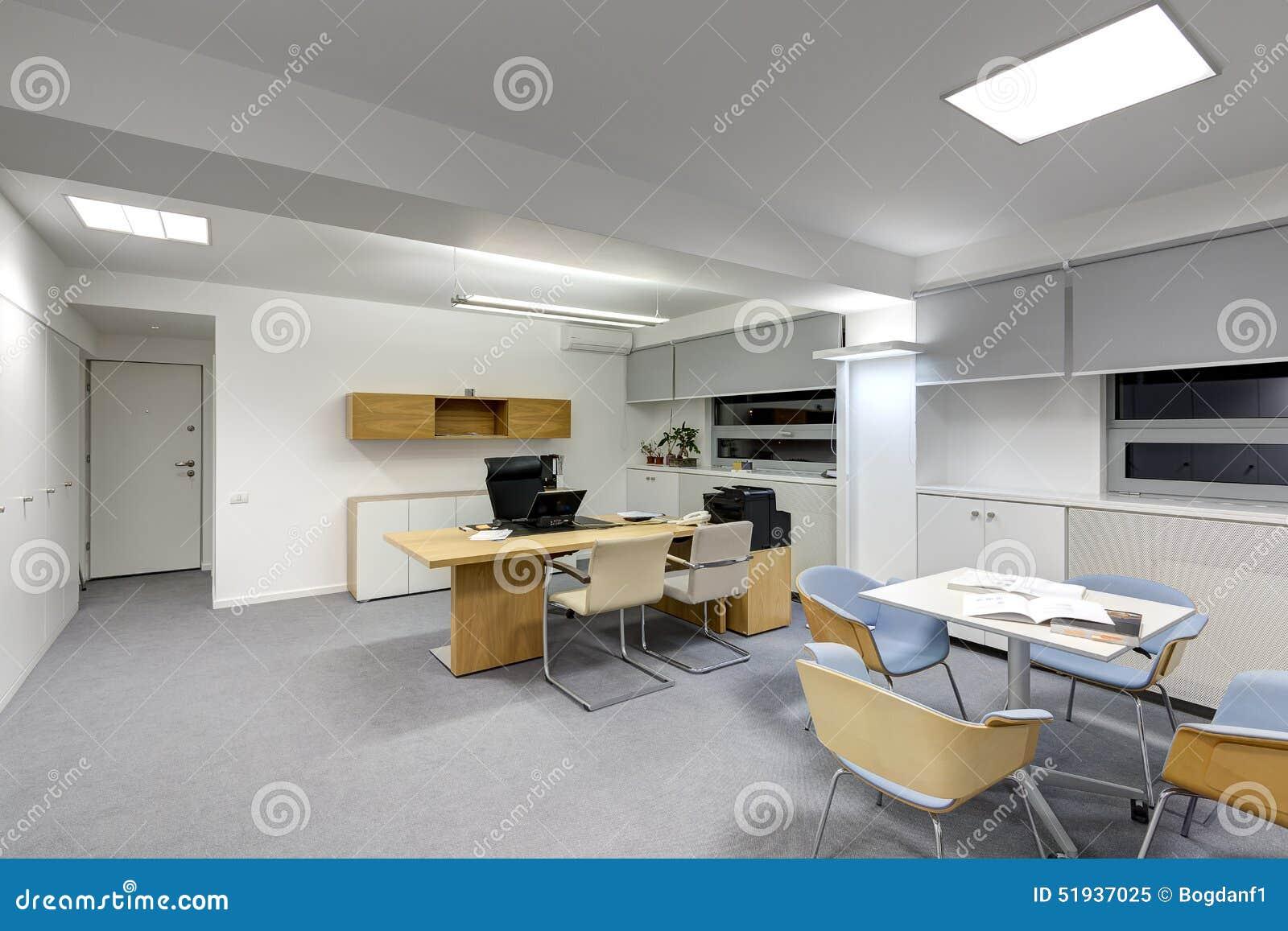Bureau Moderne Image Stock Image Du Etageres Technologie 51937025