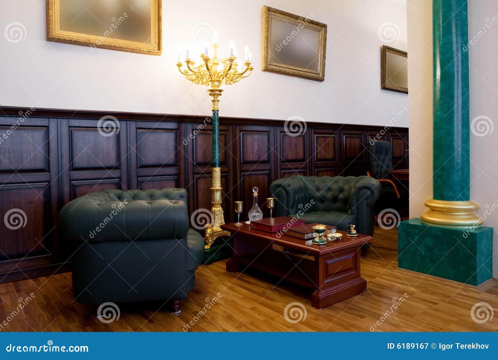Bureau moderne et de luxe image stock image du lumineux