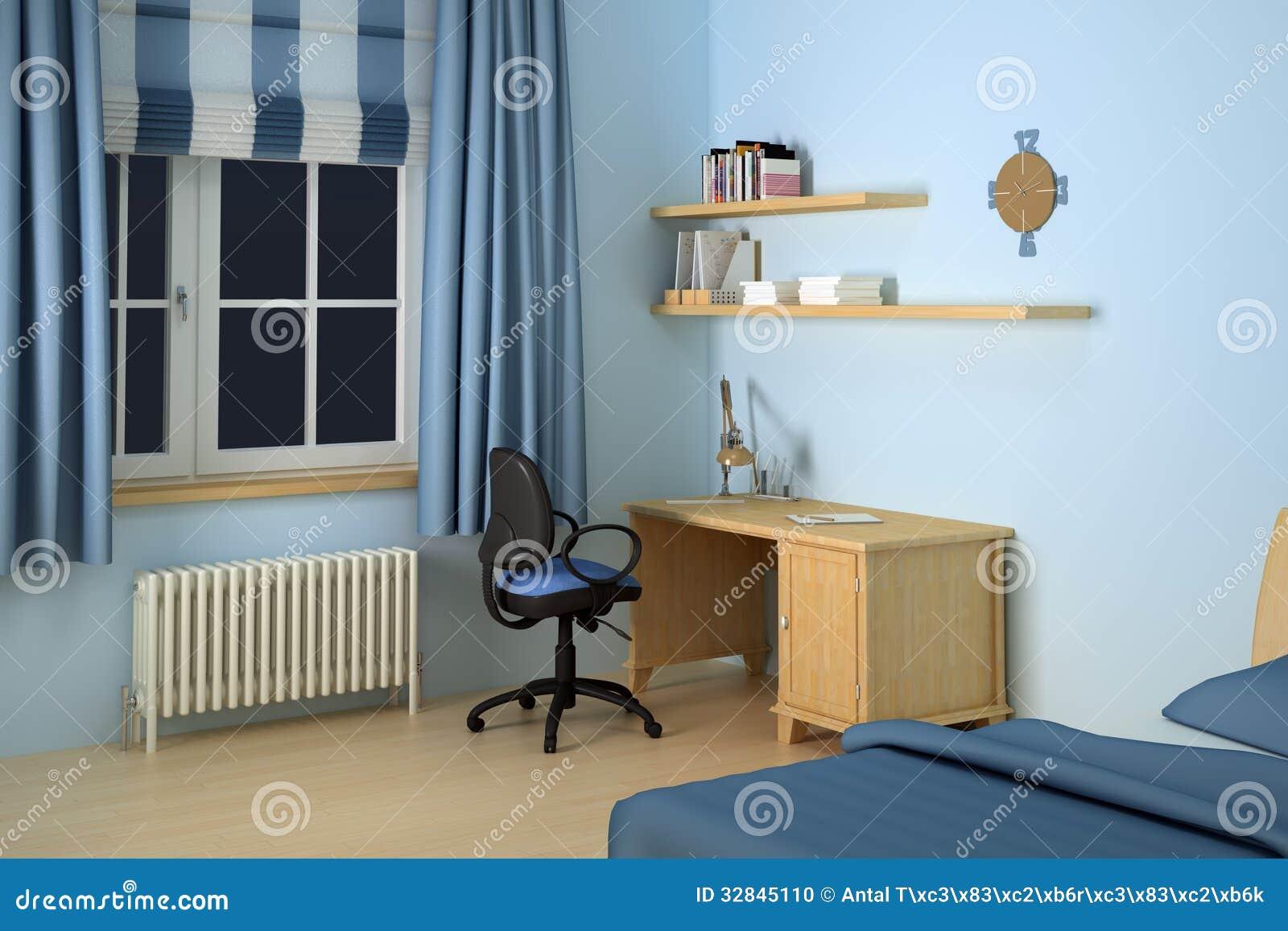 ... gelijksoortige voorraadbeelden van ` Bureau in moderne slaapkamer