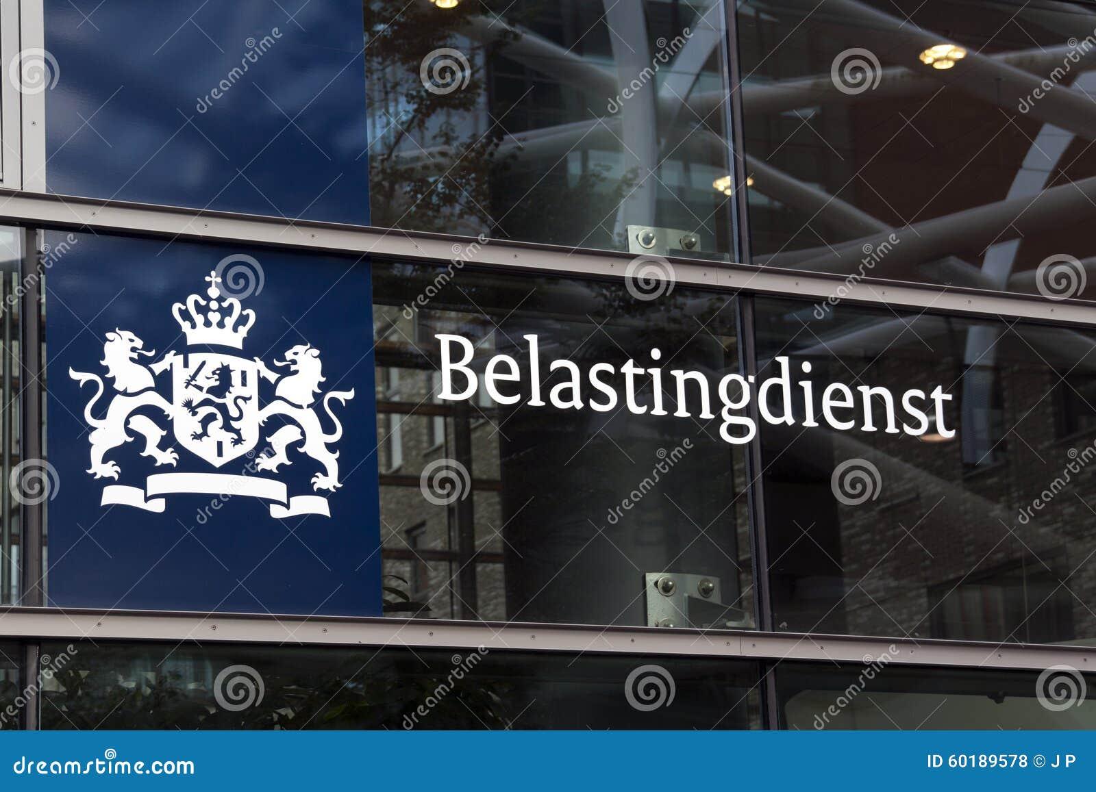 Bureau néerlandais d impôts à la haye photo stock éditorial