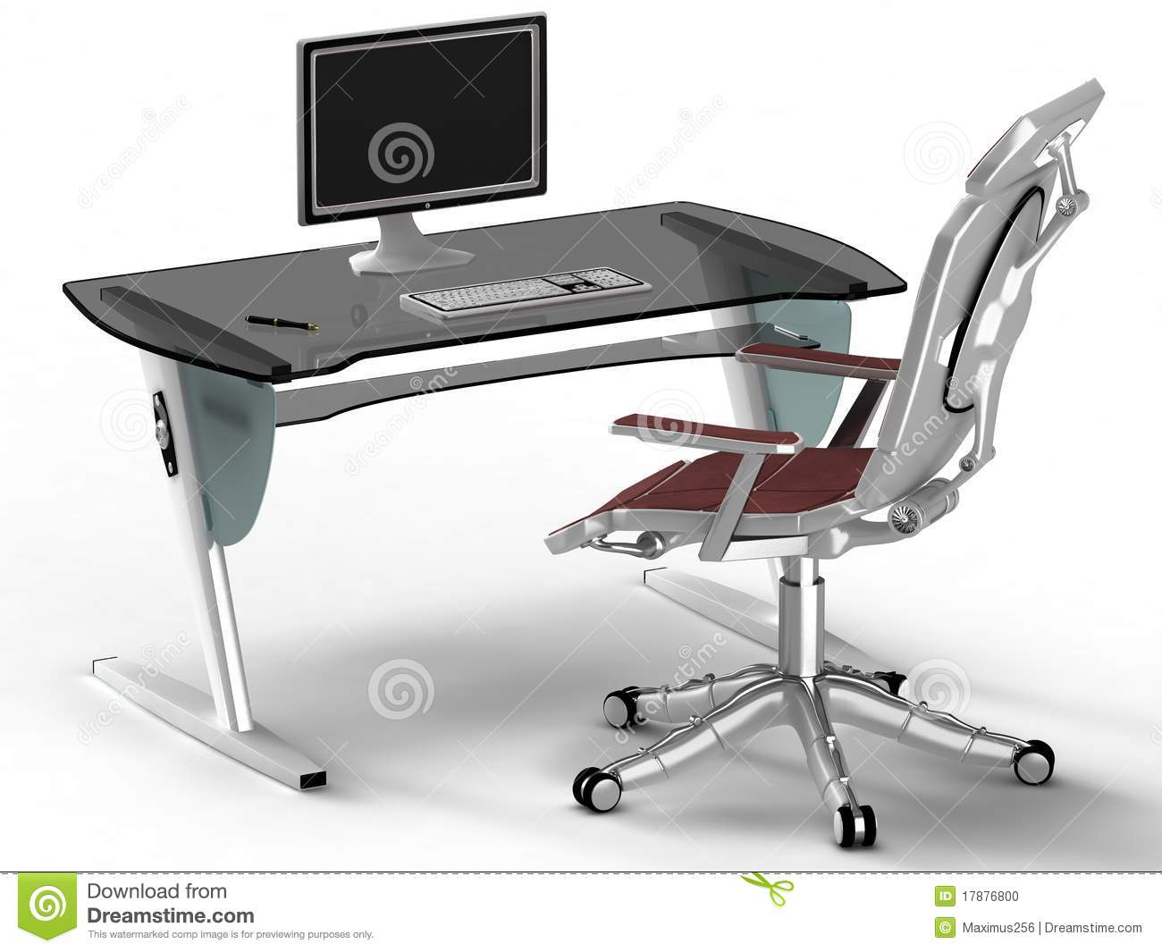 Bureau stijl high tech stock foto afbeelding 17876800 for Bureau high tech