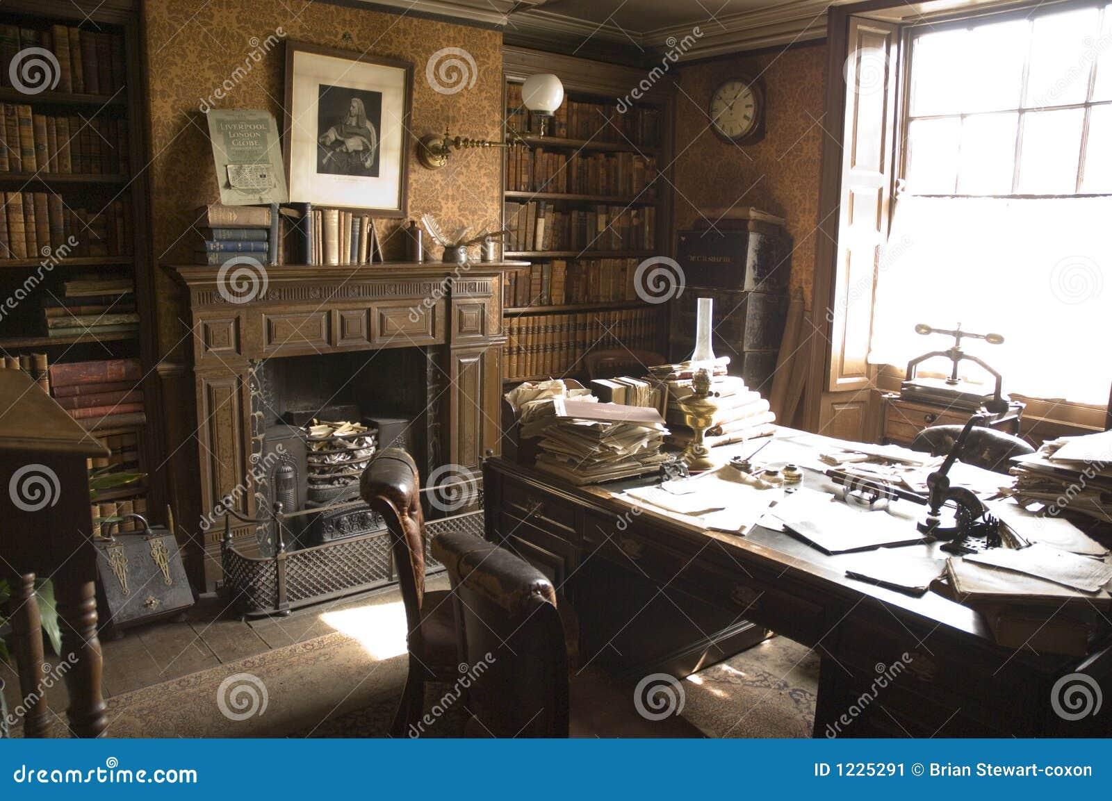 bureau victorien d 39 avocats conseils image stock image 1225291. Black Bedroom Furniture Sets. Home Design Ideas