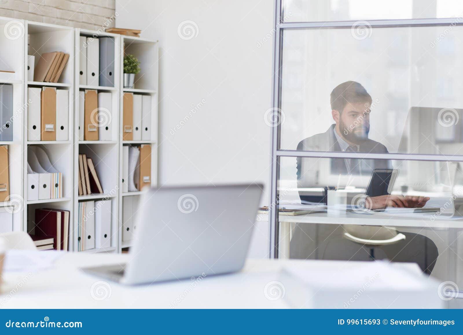 Bureaux modernes image stock image du pièce blanc durée
