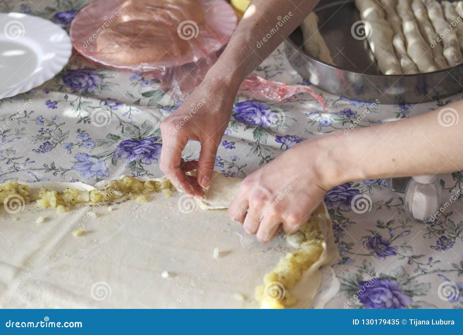 Burek с картошками