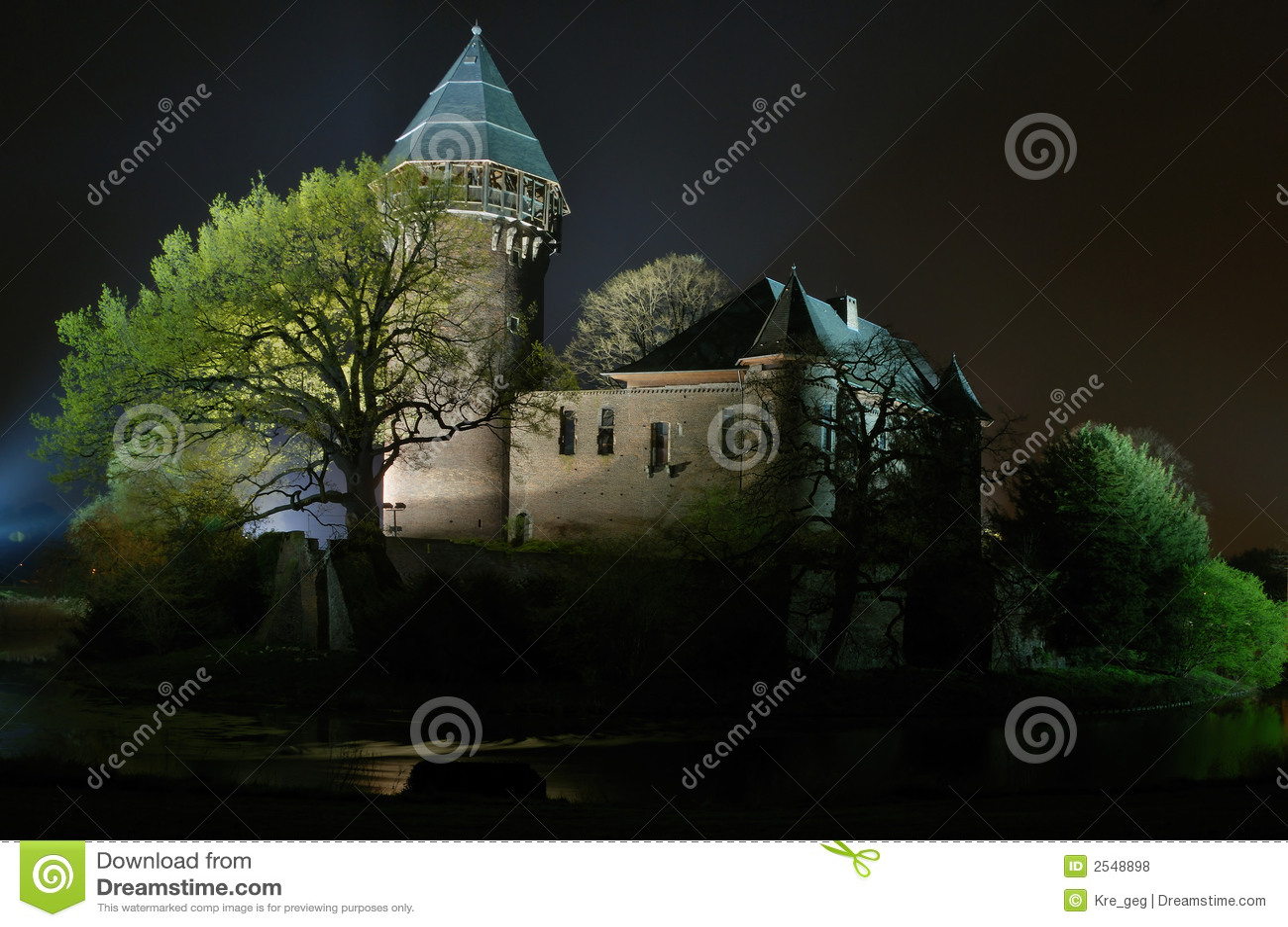 Burg Linn de château