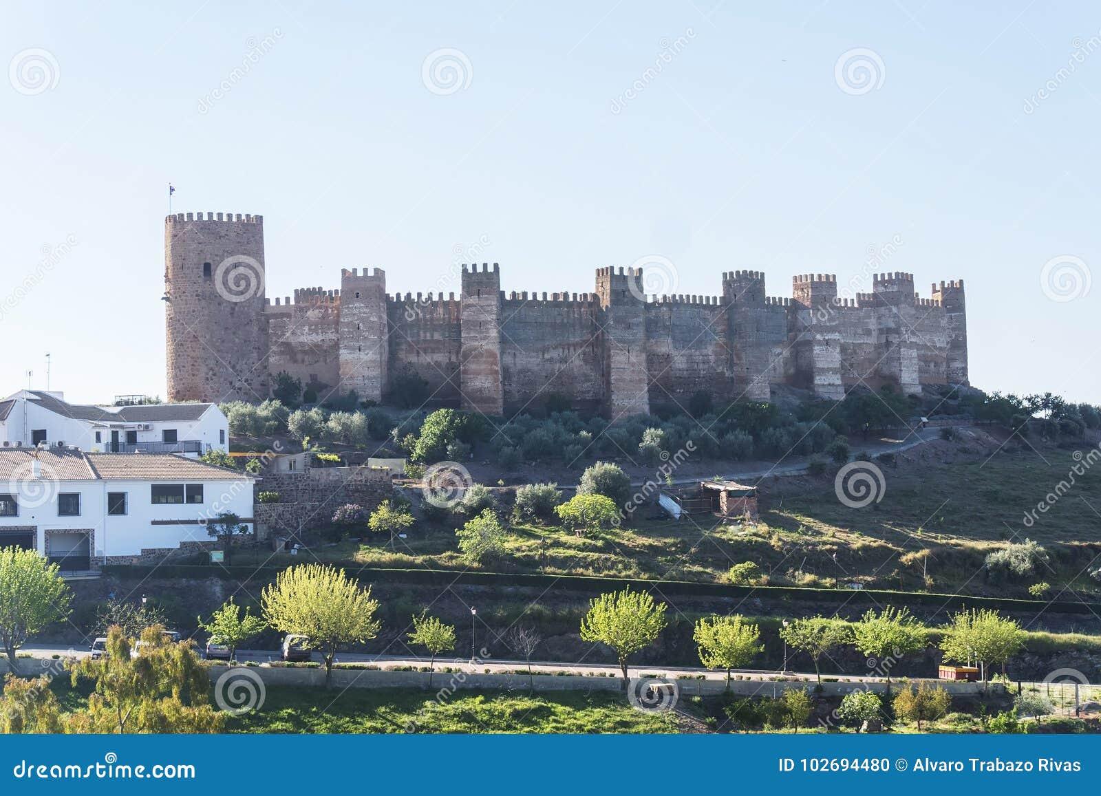 Burgalimar castle, Bury Al-Hamma, Baños de la encina village, J