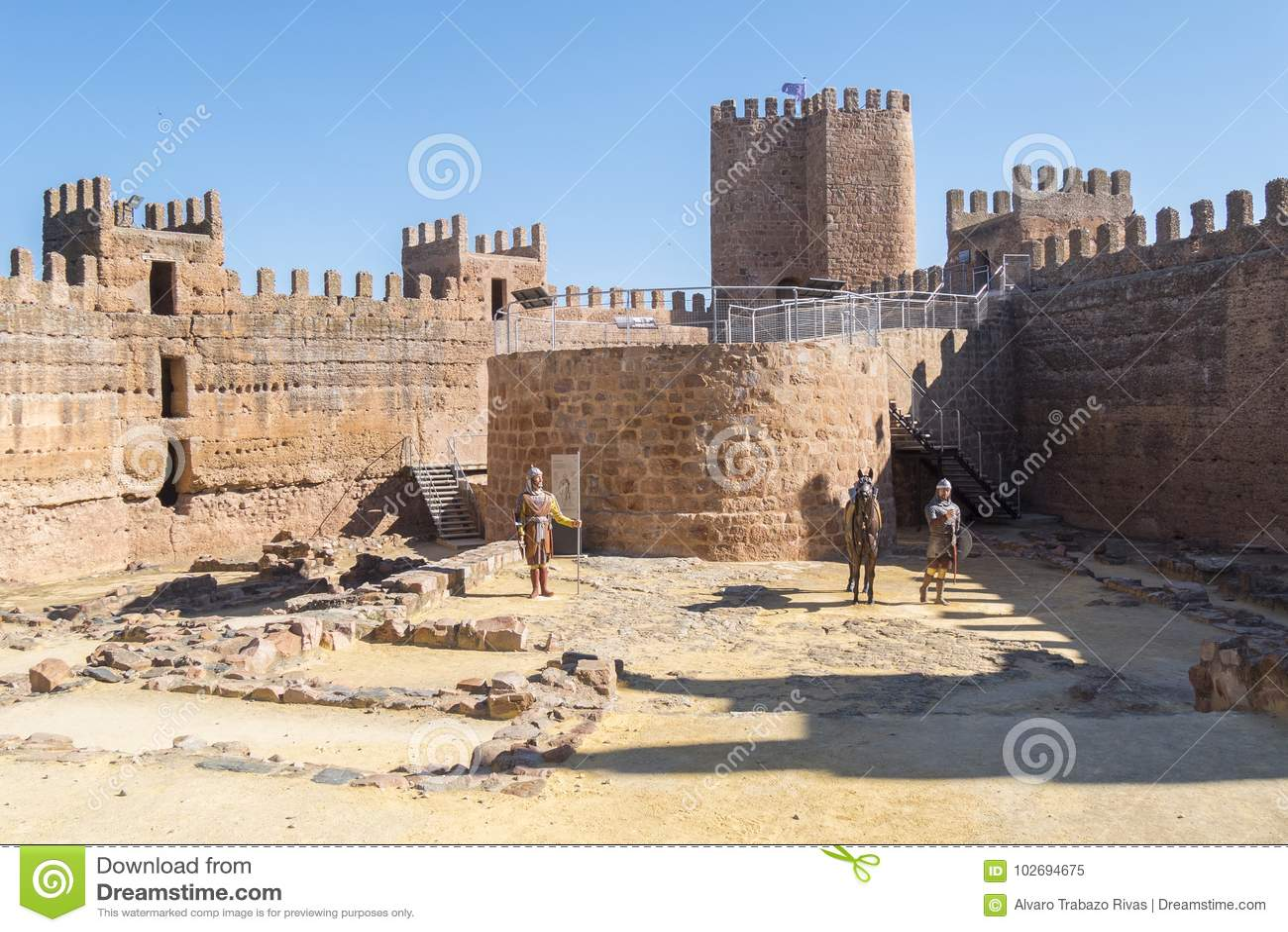 Burgalimar Castle Bury Al Hamma Banos De La Encina Village J