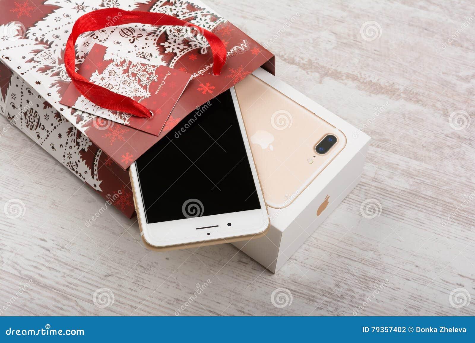 Christmas gift apples