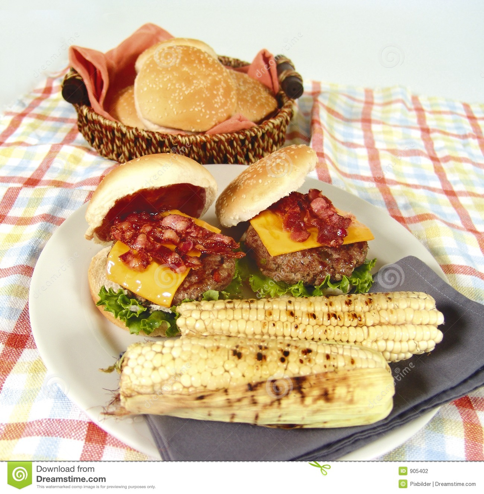 Burger μπέϊκον