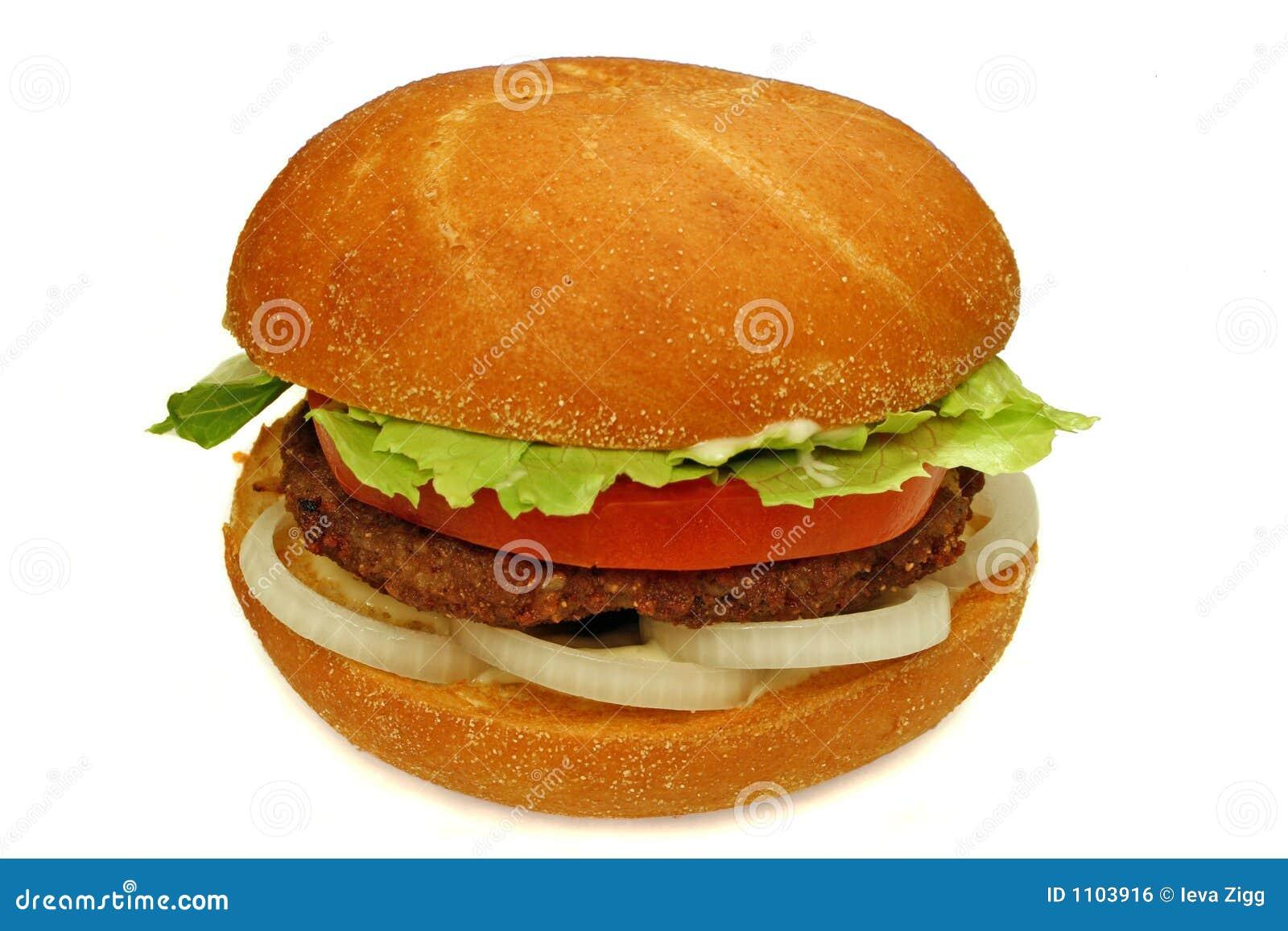 Burger Royalty Free Stock Image Image 1103916
