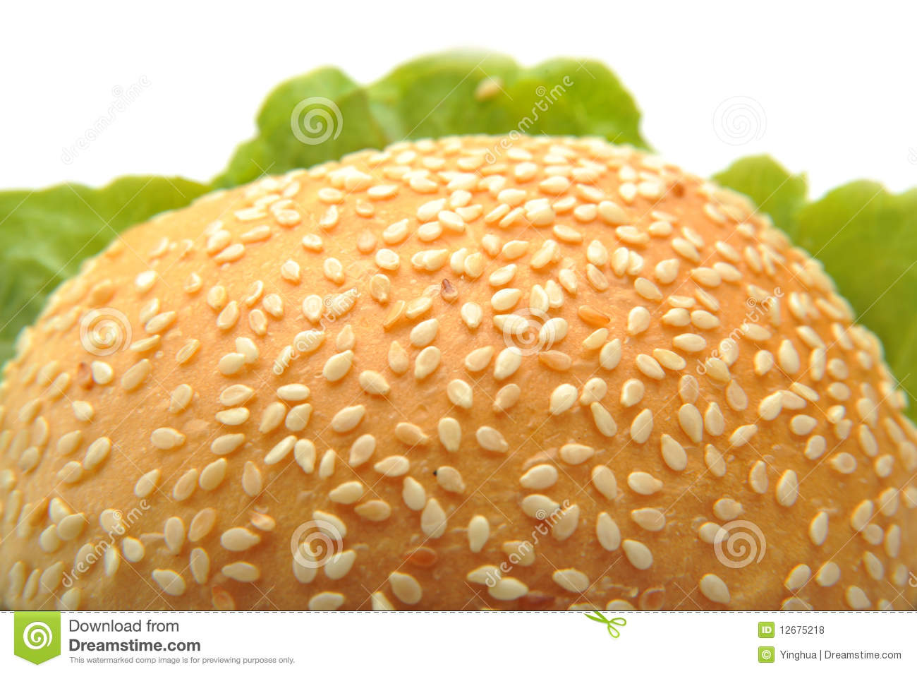 Burger Bread stock photo. Image of freshness, bread ...