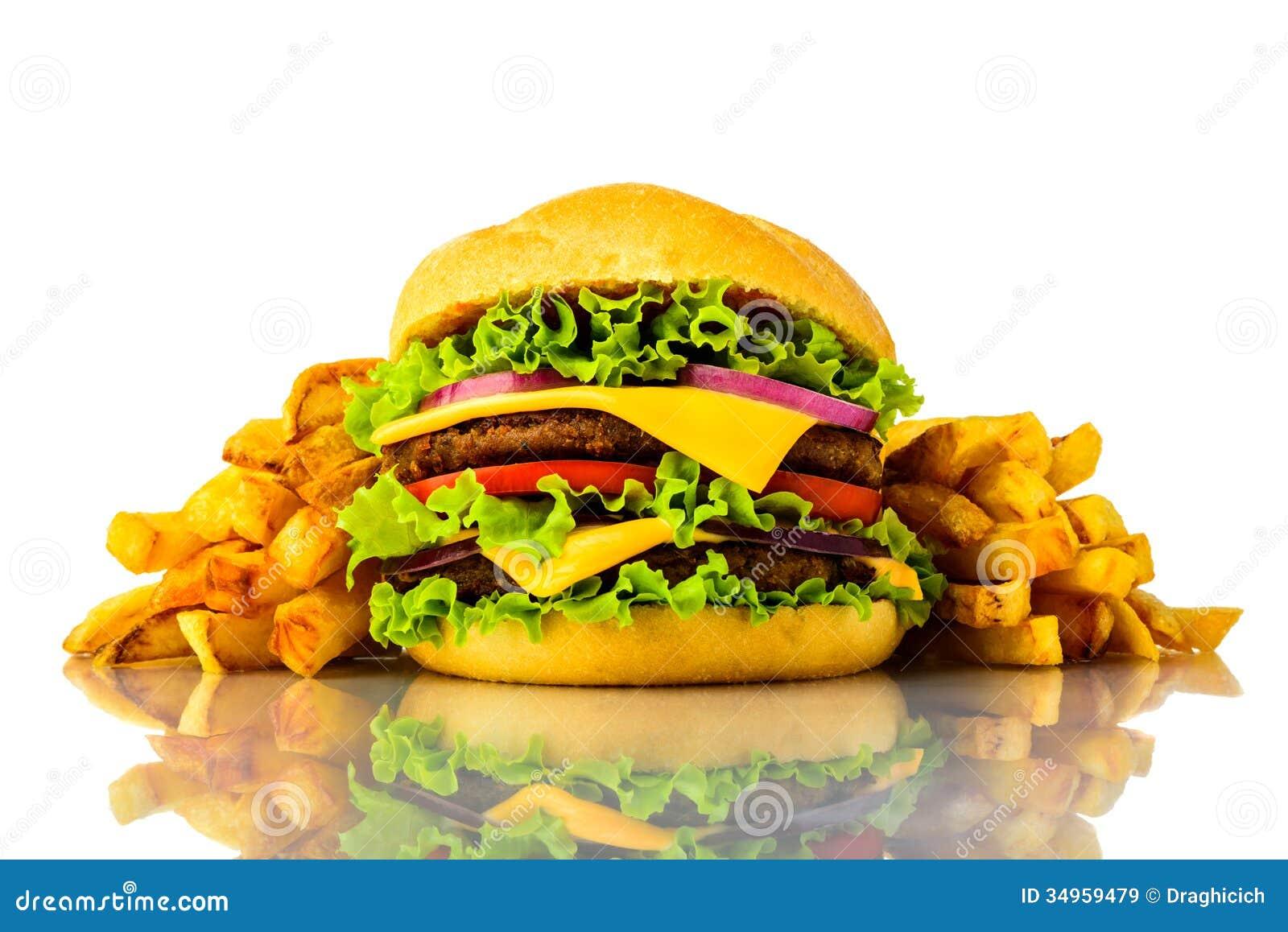 hamburger and fries wallpaper - photo #40