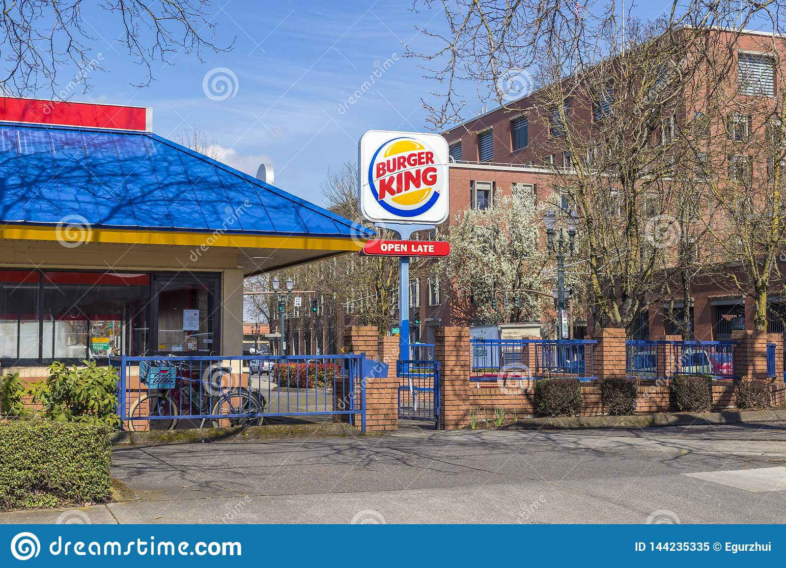 Burger King coloré Restaurant