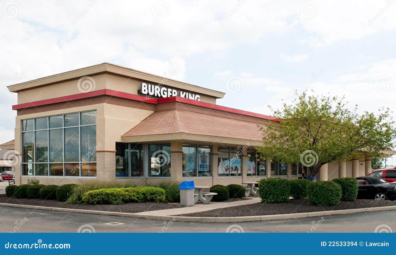 Burger King Restaurant Editorial Stock Image Image Of