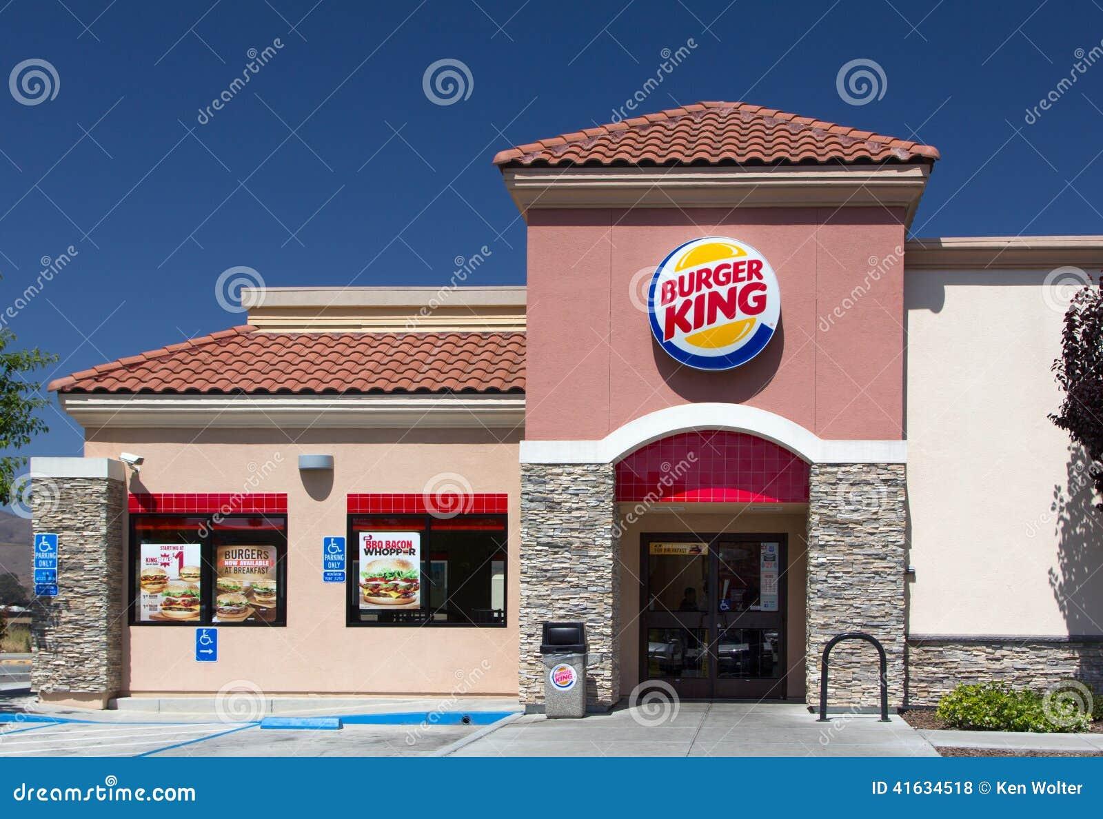 Burger King Restaurant Exterior Editorial Stock Photo ...