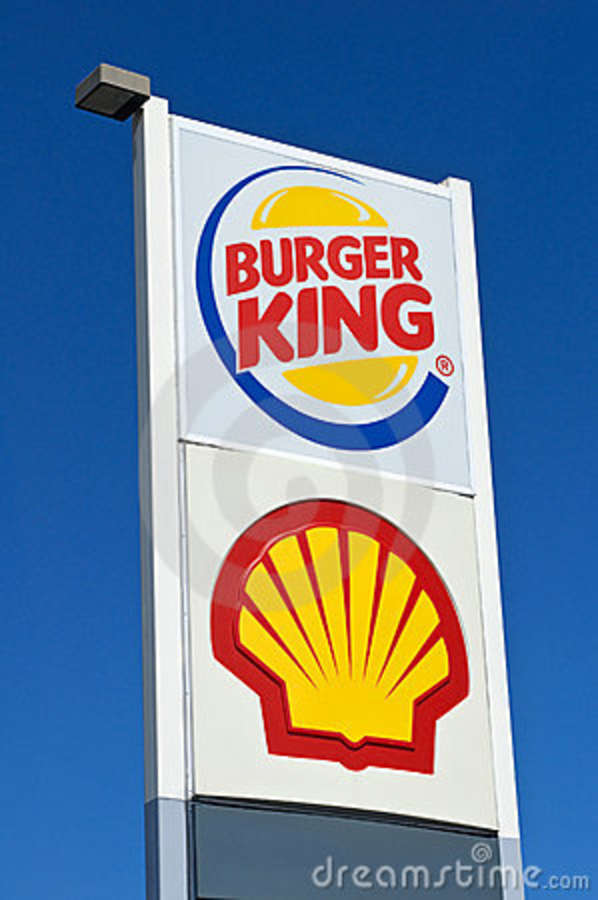 Gas Prices Miami >> Burger King Shell Sign Las Vegas Editorial Photography - Image of gasoline, nevada: 21255142