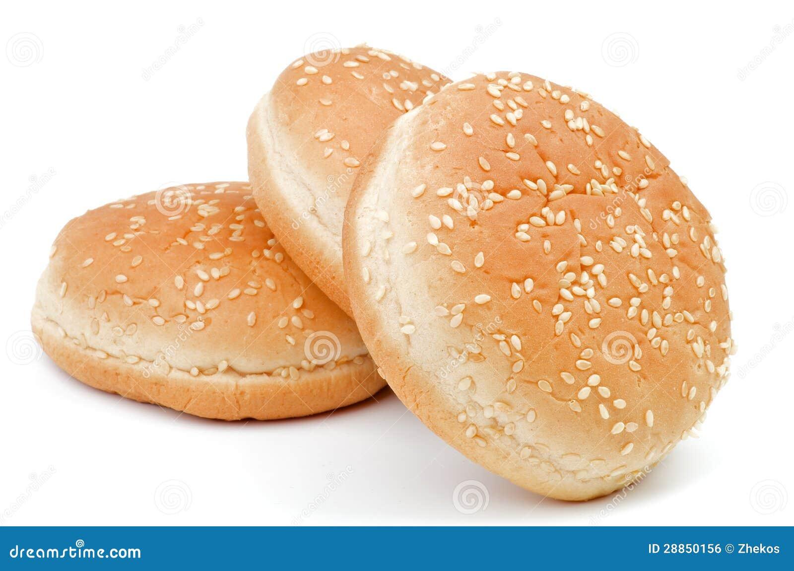 Sesame Burger Buns Royalty-Free Stock Image | CartoonDealer.com ...
