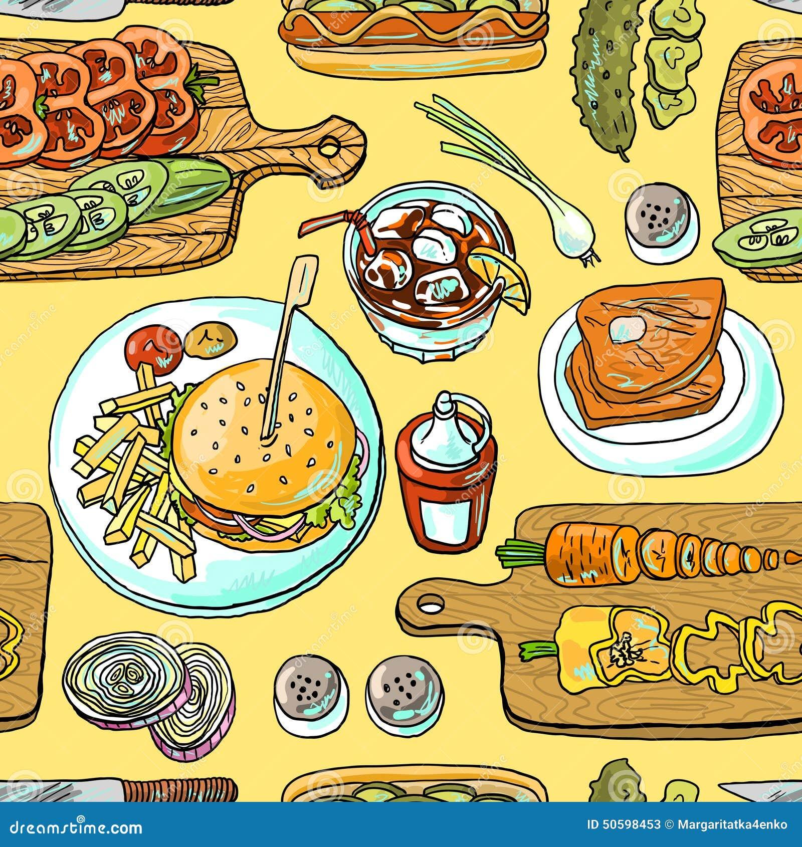 Burgers μαγειρέματος