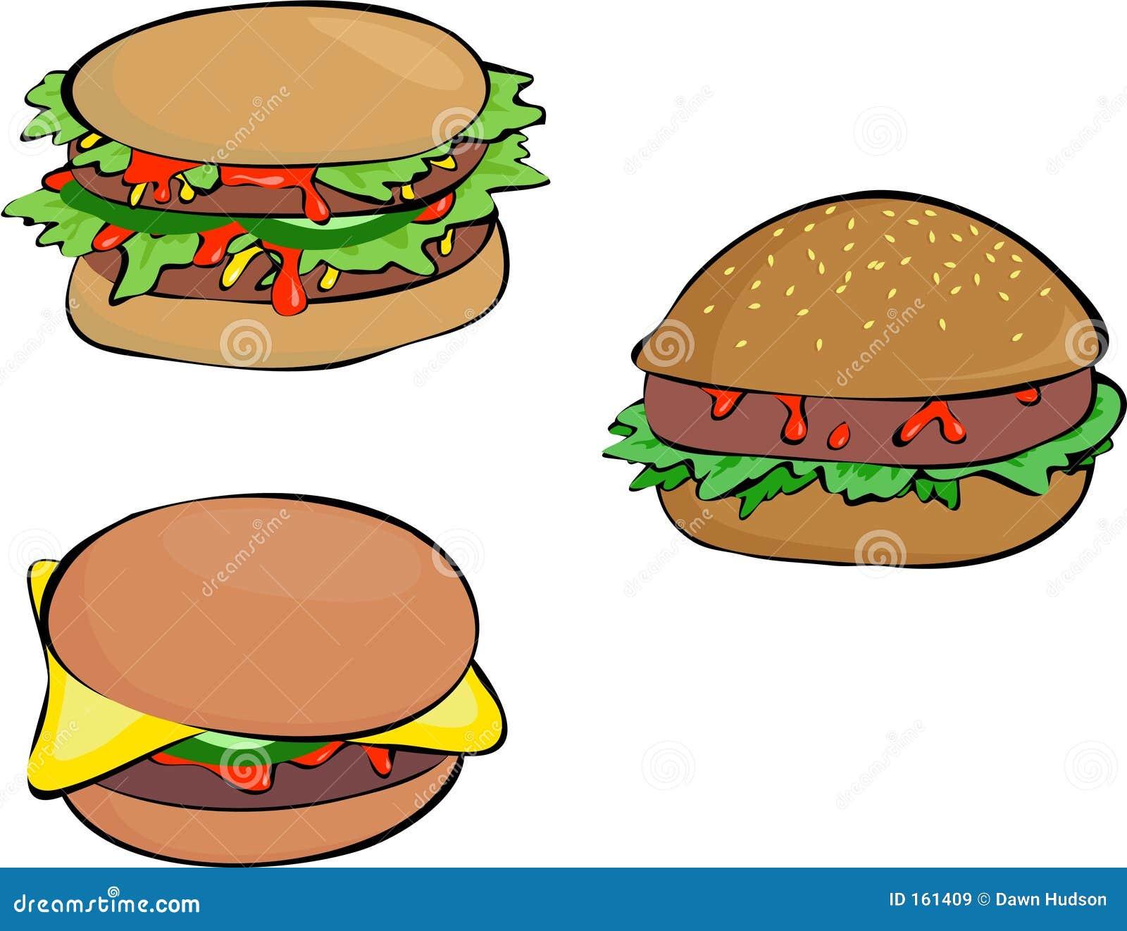 Beefburgers Cartoons, Illustrations & Vector Stock Images
