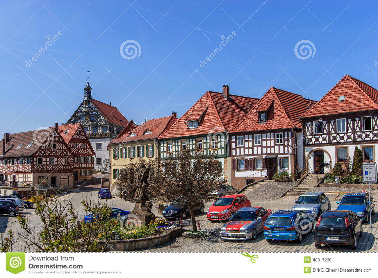 Burgkunstadt Historical Town Square Editorial Image Image