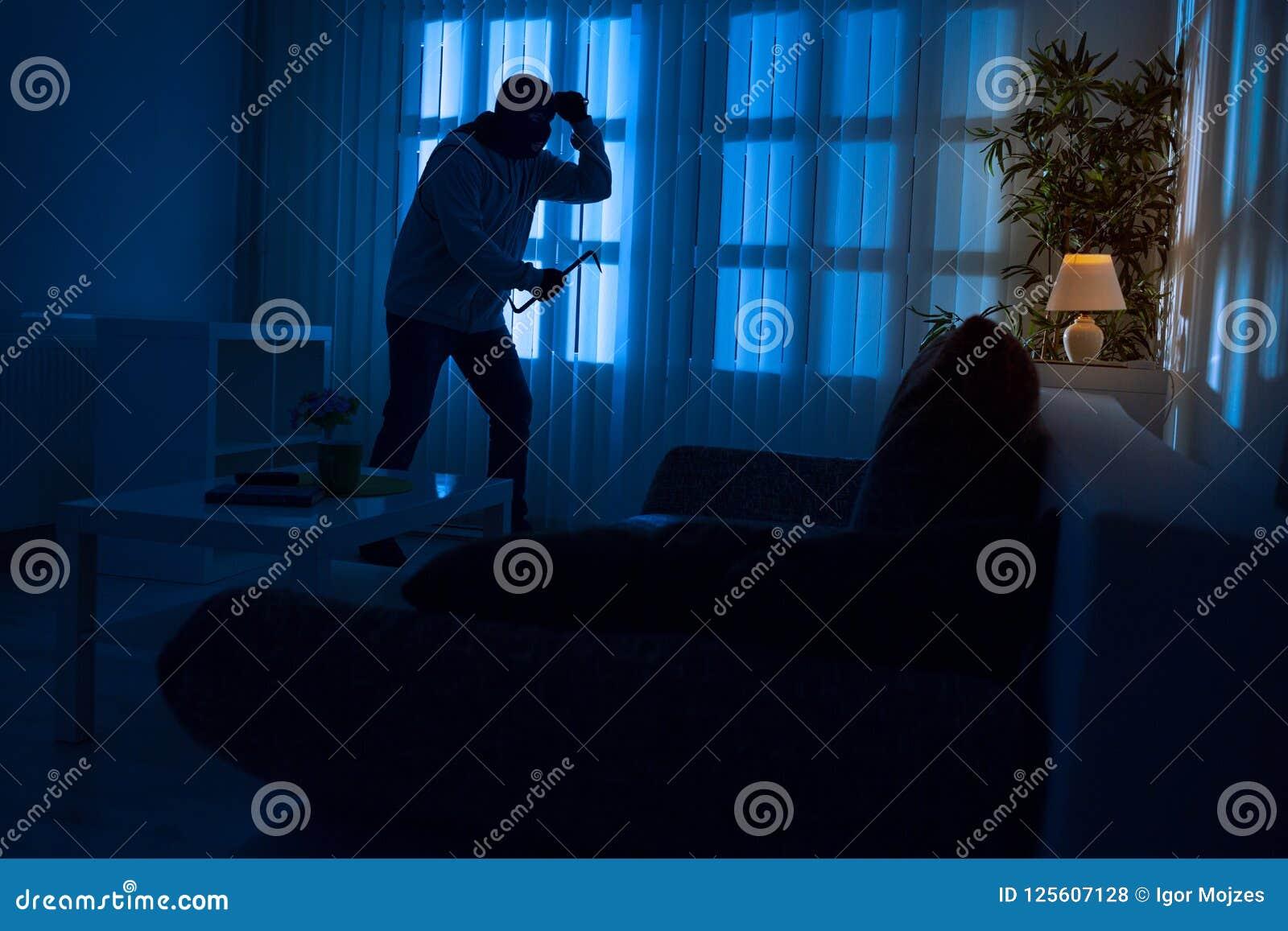 Burglary in home