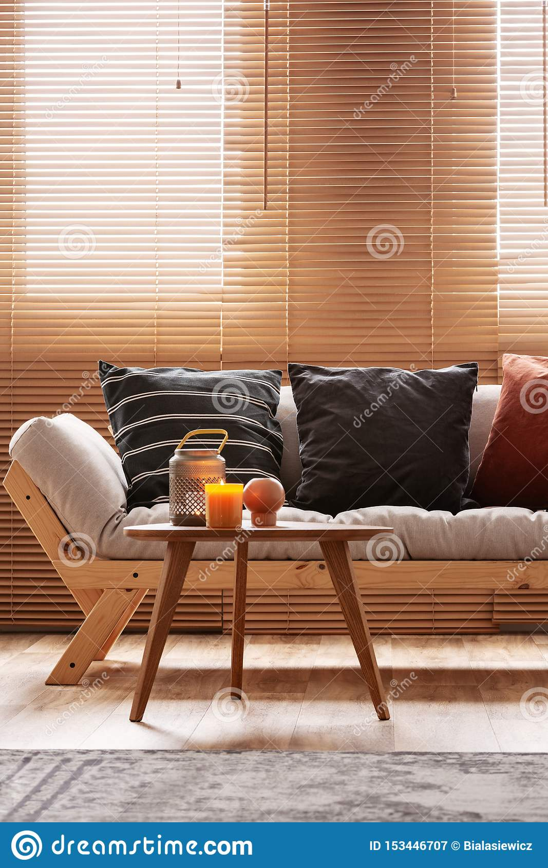 Tremendous Burgundy Black And Striped Pillows On Beige Living Room Ibusinesslaw Wood Chair Design Ideas Ibusinesslaworg