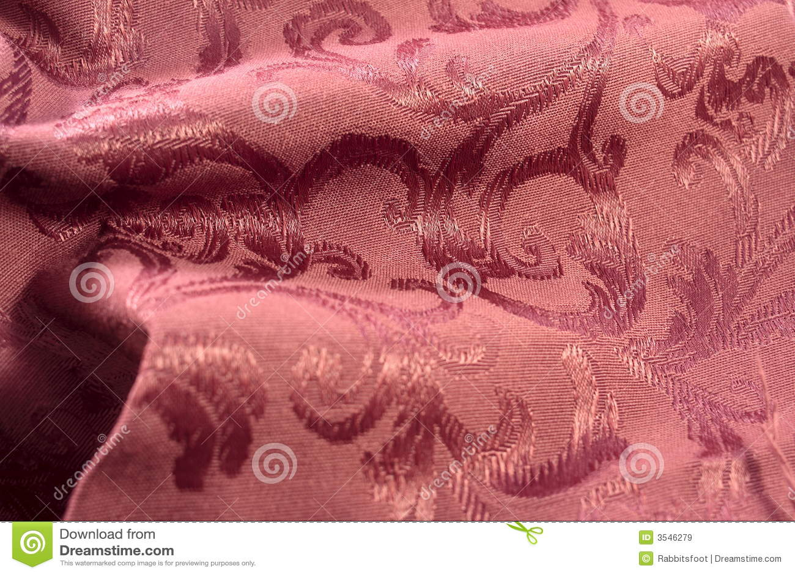 Burgundy Damask Fabric stock image. Image of sewn ...