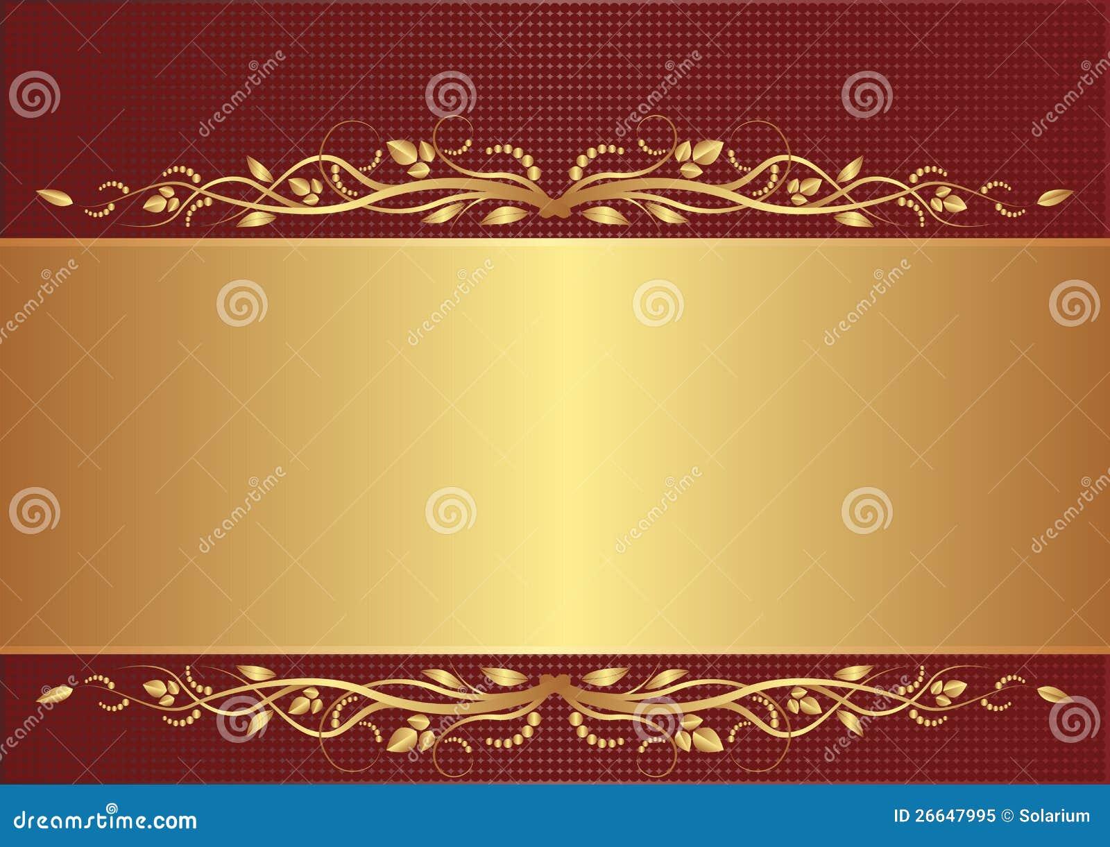 El Dorado Blue Card >> Burgundy And Gold Background Royalty Free Stock Photo - Image: 26647995