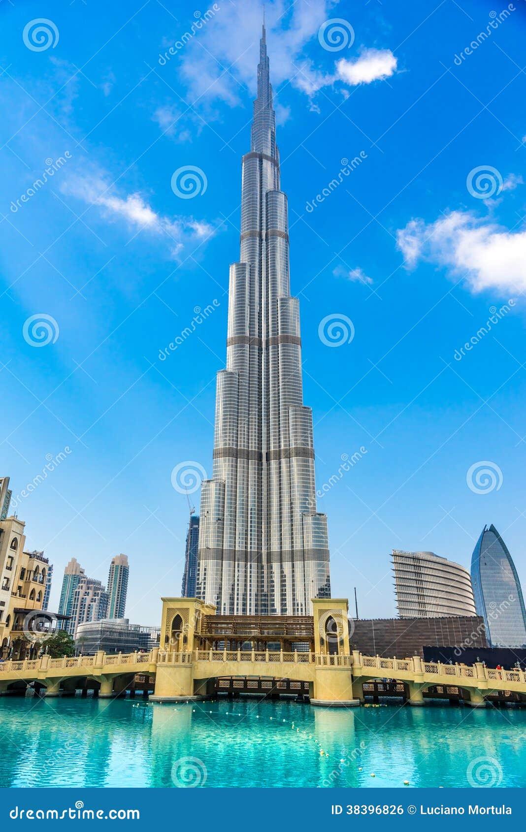 Burj哈利法门面,迪拜