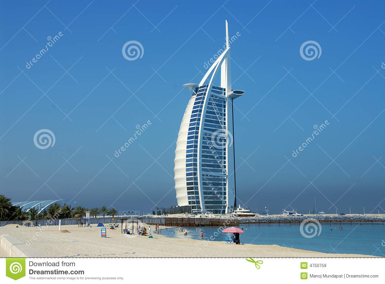 Burj Al Arab Royalty Free Stock Images Image 4750759