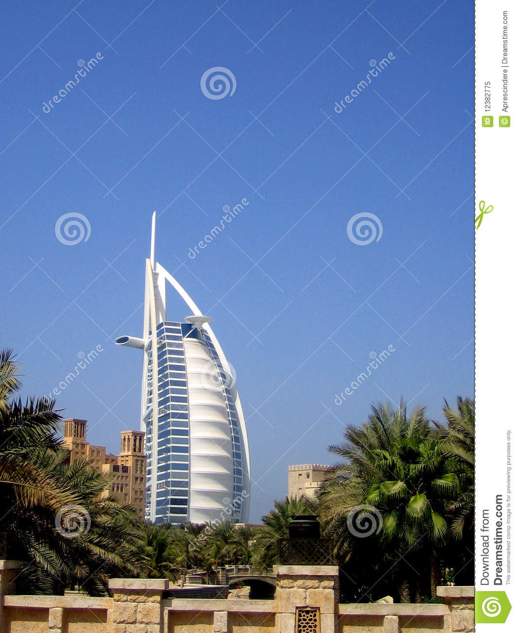 Burj Al Arab In Dubai Royalty Free Stock Photo Image