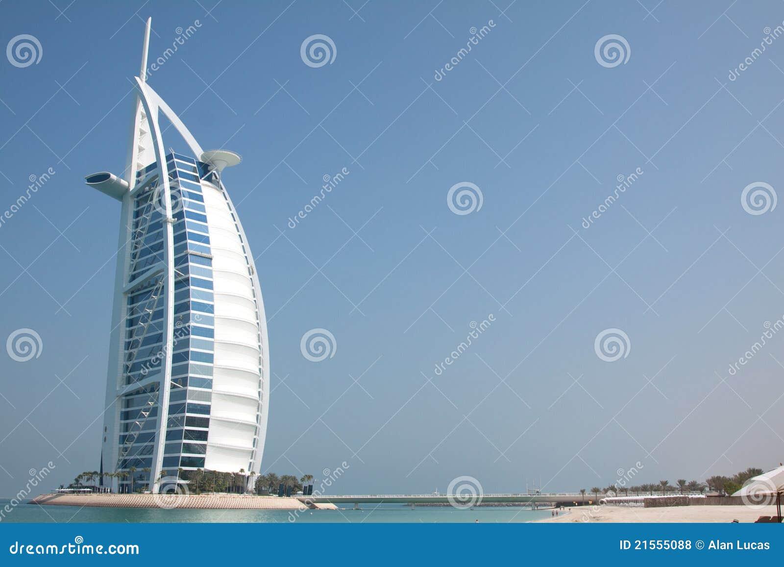 Burj al arab hotel royalty free stock photos image 21555088 for Super luxury hotels in dubai