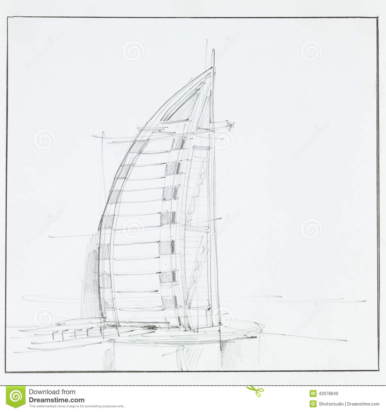 Burj Al Arab Hotel Editorial Stock Image Image 42978849