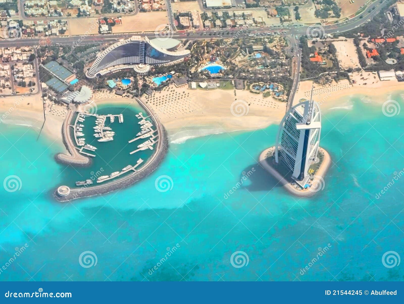 Burj Al Arab Jumeirah Beach Hotel Dubai Royalty Free Stock Photo