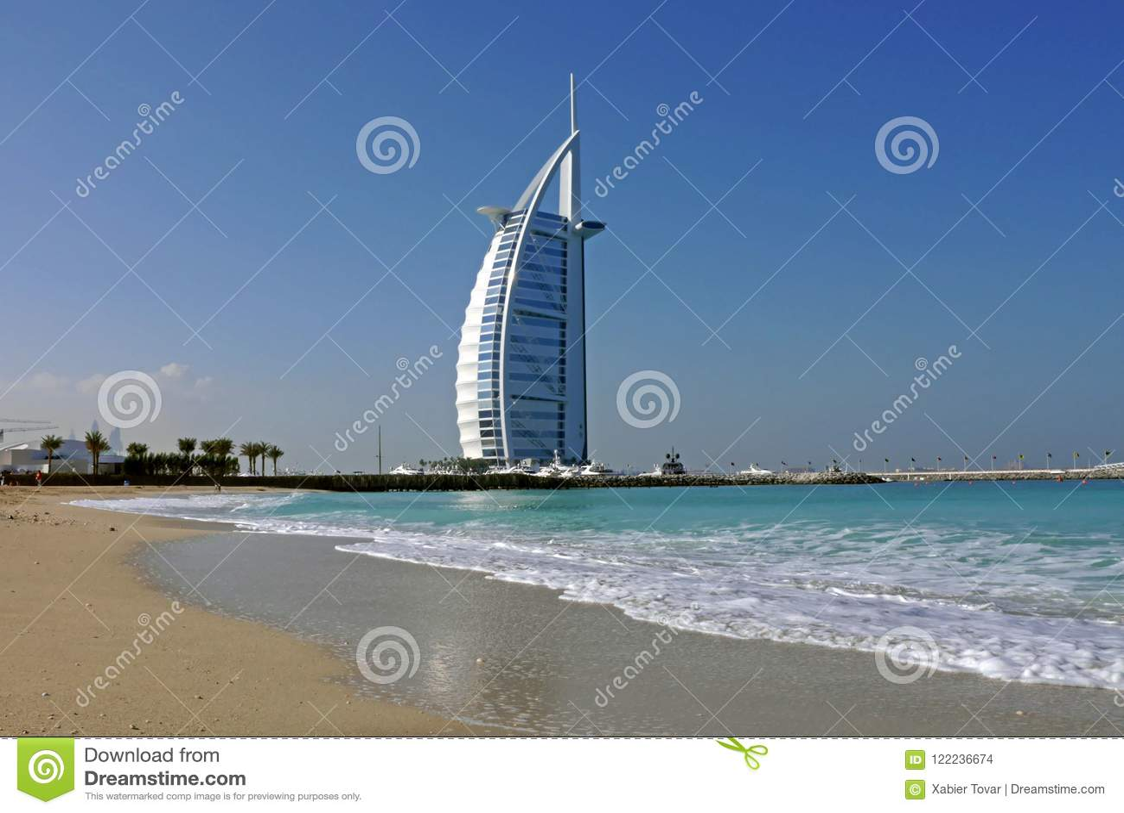 Burj Al arabisches Hotel, Dubai
