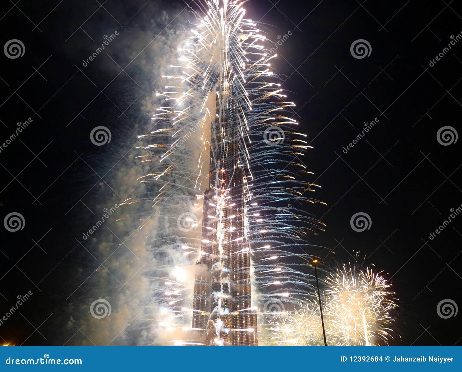 Burj ceremonii Dubai khalifa otwarcie