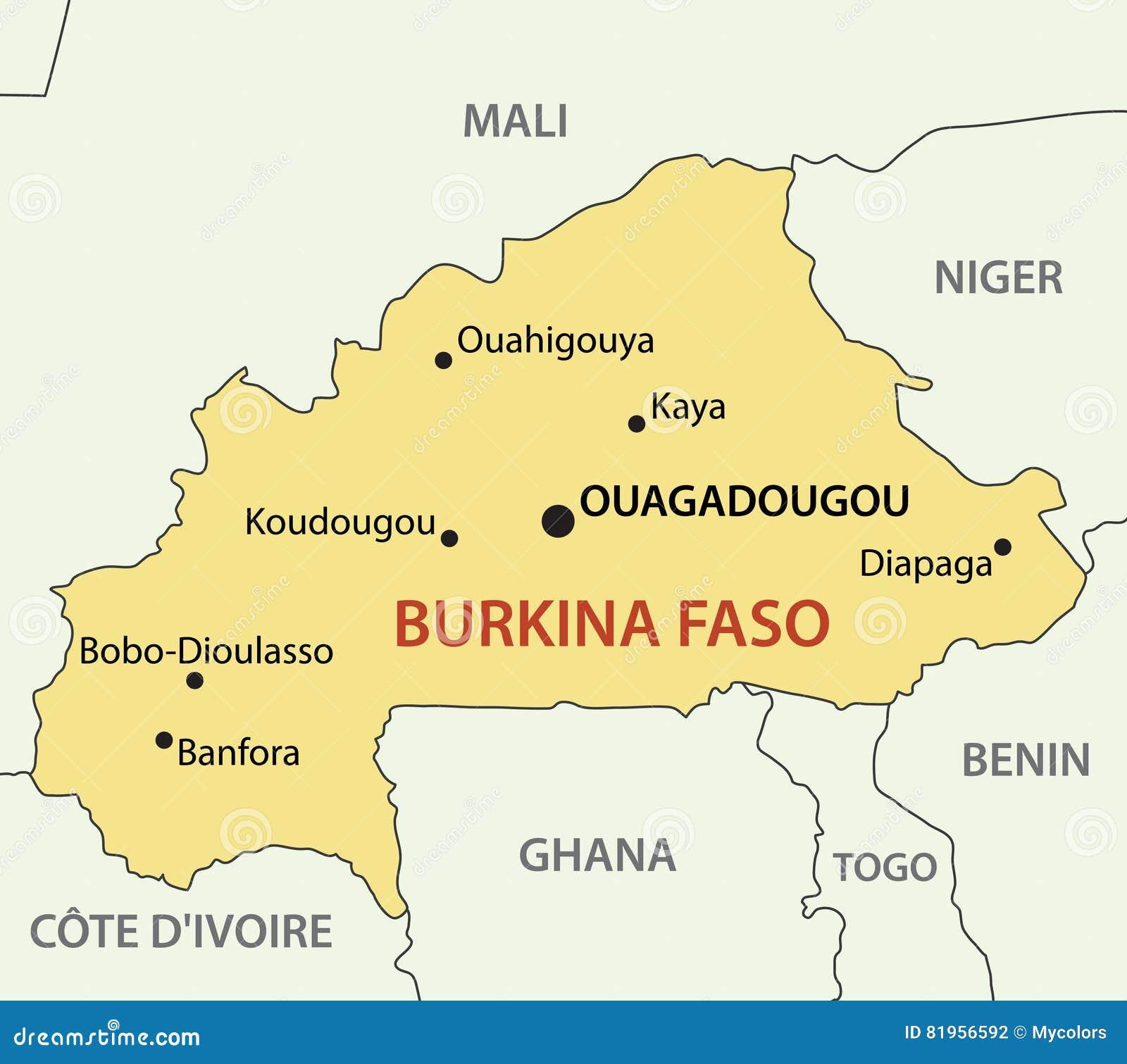 Pokret Nesvrstanih vraća se u Beograd - Page 3 Burkina-faso-map-country-vector-81956592