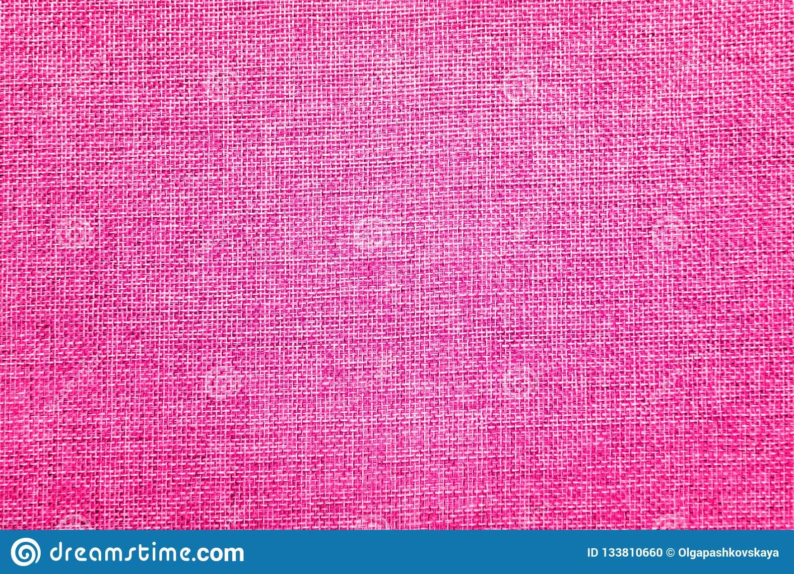 Burlap background colored in pink and white blend