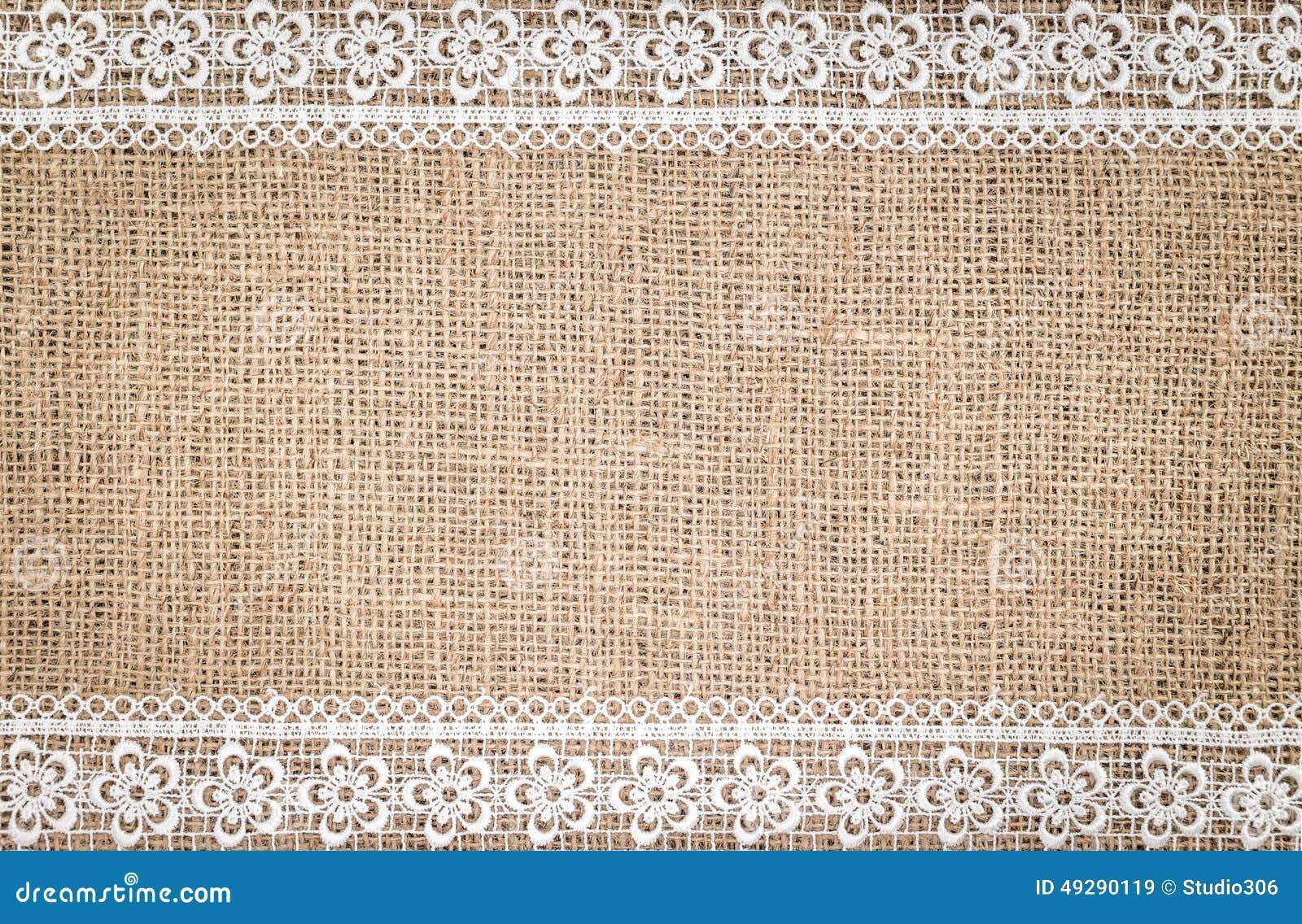 Burlap Texture Stock Photo - Image: 49290119