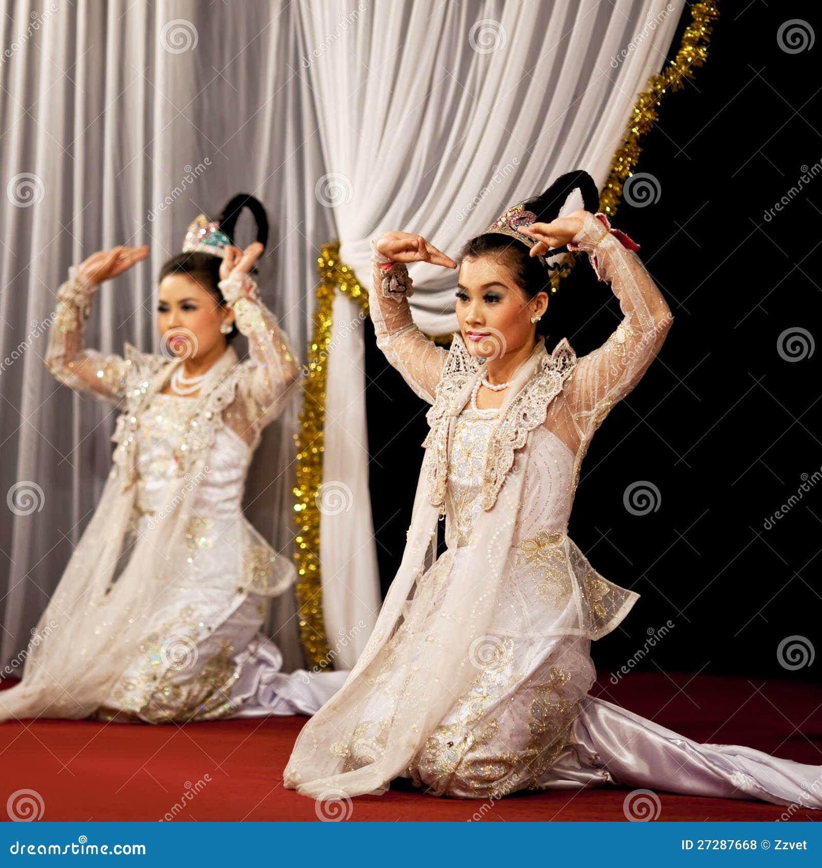 Burmese Dance Myanmar Editorial Stock Photo Image 27287668